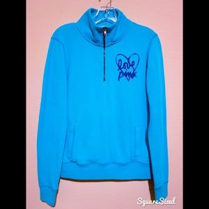 Victoria's Secret PINK 1/4 Zip Sweatshirt